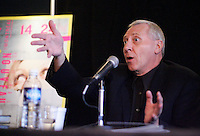 October 21 2004, Montreal (Quebec) CANADA<br /> Peter Greenaway press at the New Cinema Festival in Montreal.<br /> Photo (c) 2004) P Roussel / Images Distribution