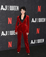 "10 January 2020 - Beverly Hills, California - Tatiana Maslany. Netflix's ""AJ And The Queen"" Season 1 Premiere at The Egyptian Theatre in Hollywood. Photo Credit: Billy Bennight/AdMedia"