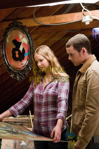 Jennifer Lawrence, Anton Yelchin<br /> in The Beaver (2011) <br /> *Filmstill - Editorial Use Only*<br /> CAP/NFS<br /> Image supplied by Capital Pictures