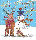 Kate, CHRISTMAS SANTA, SNOWMAN, WEIHNACHTSMÄNNER, SCHNEEMÄNNER, PAPÁ NOEL, MUÑECOS DE NIEVE, paintings+++++Christmas page 58 1,GBKM176,#x#