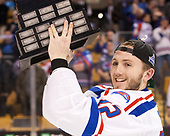 Ryan Collins (UML - 22) The University of Massachusetts-Lowell River Hawks defeated the Boston College Eagles 4-3 to win the 2017 Hockey East tournament at TD Garden on Saturday, March 18, 2017, in Boston, Massachusetts.