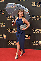 Caroline O'Connor<br /> The Olivier Awards 2018 , arrivals at The Royal Albert Hall, London, UK -on April 08, 2018.<br /> CAP/PL<br /> &copy;Phil Loftus/Capital Pictures