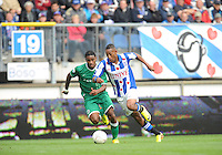 VOETBAL: HEERENVEEN: 15-09-2013,  Abe Lenstra Stadion, SC Heerenveen-FC Groningen, Rajiv van La Parra, ©foto Martin de Jong