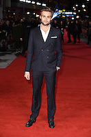Douglas Booth at the European premiere for &quot;Pride and Prejudice and Zombies&quot; at the Vue West End, Leicester Square.<br /> February 1, 2016  London, UK<br /> Picture: Steve Vas / Featureflash