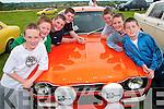 Duagh boys enjoying the vintage rally in Athea on Sunday were Steven and Garry Horgan, Junior McCarthy, Thomas Scanlon, Ian Horgan, Sean Scanlon and Diarmaid Kirby...   Copyright Kerry's Eye 2008