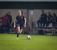 STANFORD, CA - November 9, 2018: Beattie Goad at Laird Q. Cagan Stadium. The top seeded Stanford Cardinal defeated the Seattle Redhawks 3-0 in the opening round of the NCAA tournament.