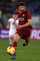 Federico Fazio of AS Roma in action during the Serie A 2018/2019 football match between AS Roma and AC Milan at stadio Olimpico, Roma, February 3, 2019 <br />  Foto Andrea Staccioli / Insidefoto