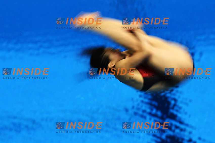 He Zi China Trampolino 3m - 3m Springboard.London 4/8/2012 Aquatics Center.London 2012 Olympic games - Olimpiadi Londra 2012.Diving - Tuffi.Foto Andrea Staccioli Insidefoto