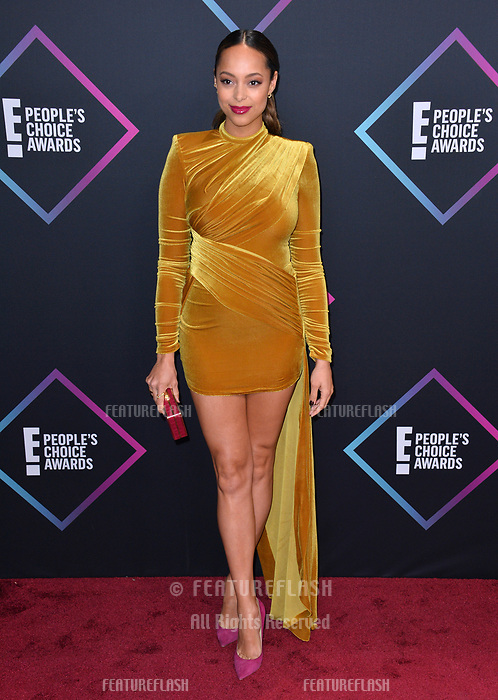 LOS ANGELES, CA. November 11, 2018: Amber Stevens West at the E! People's Choice Awards 2018 at Barker Hangar, Santa Monica Airport.<br /> Picture: Paul Smith/Featureflash