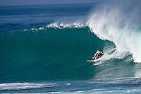 JAMIE O'BRIEN (HAW) surfing Backdoor, North Shore of Oahu, Hawaii. Photo: joliphotos.com