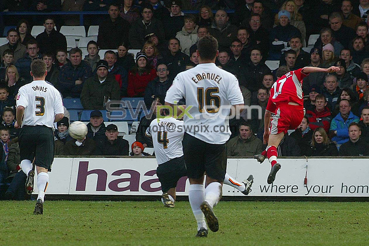 SWPix. . Photographer. Danny Martindale..FA Cup Fourth Round.  Luton Town v Blackburn Rovers..Copyright..SimonWilkinson..Tel.07811267706..Sat. 27.01.2007...