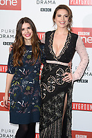 Philippa Coulthard and Hayley Atwell<br /> at the &quot;Howard's End&quot; screening held at the BFI NFT South Bank, London<br /> <br /> <br /> &copy;Ash Knotek  D3343  01/11/2017