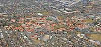 University of Colorado Boulder panoramic aerial. Feb 2013
