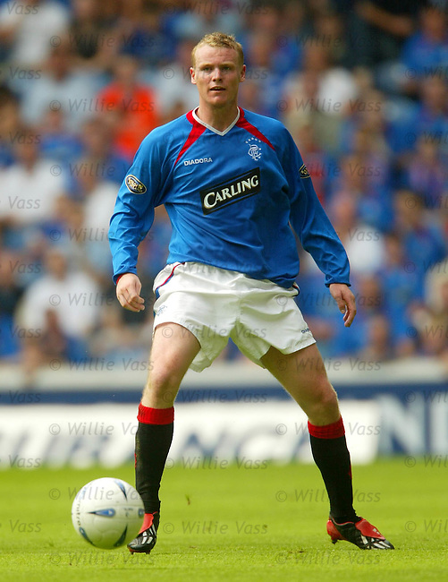 Michael Ball, Rangers.stock season 2003-04..pic willie vass