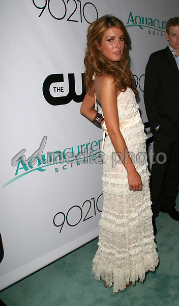 "23 August 2008 - Malibu, California - Shenae Grimes. CW Network's ""90210"" Premiere Party held at a Private Location. Photo Credit: Faye Sadou/AdMedia"