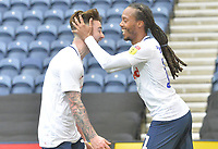 Preston North End's Daniel Johnson celebrates scoring the opening goal <br /> <br /> Photographer Mick Walker/CameraSport<br /> <br /> The EFL Sky Bet Championship - Preston North End v Bristol City - Saturday 2nd March 2019 - Deepdale Stadium - Preston<br /> <br /> World Copyright © 2019 CameraSport. All rights reserved. 43 Linden Ave. Countesthorpe. Leicester. England. LE8 5PG - Tel: +44 (0) 116 277 4147 - admin@camerasport.com - www.camerasport.com