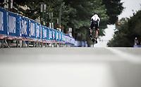 Lennard Kamma (DEU) off<br /> <br /> U23 Men TT<br /> UCI Road World Championships / Richmond 2015