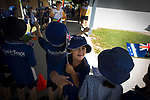 Batonbearer Ryan Allen carrying the Baton into Trinity Beach school as the Queen's Baton Relay visited Trinity Beach, Cairns. In the host state of Queensland the Queen's Baton will visit 83 communities from Saturday 3 March to Wednesday 4 April 2018. As the Queen's Baton Relay travels the length and breadth of Australia, it will not just pass through, but spend quality time in each community it visits, calling into hundreds of local schools and community celebrations in every state and territory. The Gold Coast 2018 Commonwealth Games (GC2018) Queen's Baton Relay is the longest and most accessible in history, travelling through the Commonwealth for 388 days and 230,000 kilometres. After spending 100 days being carried by approximately 3,800 batonbearers in Australia, the Queen's Baton journey will finish at the GC2018 Opening Ceremony on the Gold Coast on 4 April 2018.