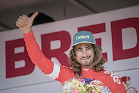thumbs up: Peter Sagan (SVK/Tinkoff) is leader in the points qualification<br /> <br /> 12th Eneco Tour 2016 (UCI World Tour)<br /> stage 2: Breda-Breda iTT (9.6km)