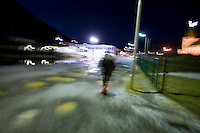 Family father Jaroslaw (called Jarek) Jambrzycki marches to work in the 8 am darkness after dropping his five year old son Pawel off at the kindergarten. In the small town of Suðureyri, located in the remote, isolated and terrible Western fjords of Iceland, everything is walking distance..