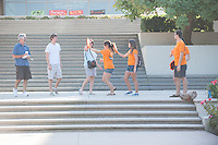 Photo from incoming student Orientation, Occidental College, Los Angeles, August 27, 2011. (Photo by Marc Campos, Occidental College Photographer)