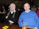 Peter Murphy and Kevin Geraghty pictured at the Mattock Rangers Annual awards night held in their clubrooms Collon.
