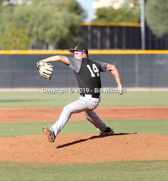 Mat Olsen - 2019 Central Arizona Vaqueros fall season (Bill Mitchell)