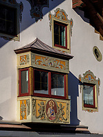 Bemaltes Haus, Nassereith. Gurgltal in Tirol, Österreich, Europa<br /> House with murals, Nassereith, , district Imst, Tyrol, Austria, Europe