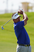 Ian Poulter (ENG) on the 9th during Round 4 of the Saudi International at the Royal Greens Golf and Country Club, King Abdullah Economic City, Saudi Arabia. 02/02/2020<br /> Picture: Golffile | Thos Caffrey<br /> <br /> <br /> All photo usage must carry mandatory copyright credit (© Golffile | Thos Caffrey)