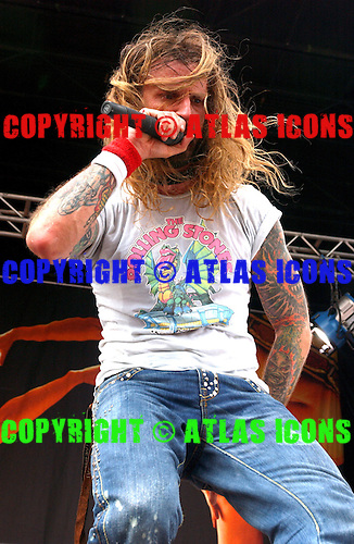 ROB ZOMBIE; Live, Ozzfest 2005, On 7/17/2005<br /> Photo Credit: Eddie Malluk/Atlas Icons.com