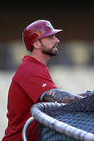 Ryan Roberts #14 of the Arizona Diamondbacks before a game against the Los Angeles Dodgers at Dodger Stadium on May 14, 2012 in Los Angeles,California. Los Angeles defeated Arizona 3-1.(Larry Goren/Four Seam Images)