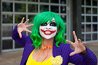 The Joker Cosplay by Luna Lyrik, Renton City Comicon 2017, Washington, USA.