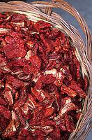Europe/Italie/Calabre/Tropea : Tomates séchées