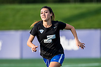 Boston, MA - Sunday September 10, 2017: Brooke Elby during a regular season National Women's Soccer League (NWSL) match between the Boston Breakers and Portland Thorns FC at Jordan Field.