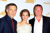 LOS ANGELES - OCT 6: Volker Bruch, Liv Lisa Fries, Peter Kurth at the Babylon Berlin International Premiere held at The Theatre at Ace Hotel on October 6, 2017 in Los Angeles, CA
