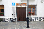 Small hostel hotel village of Capileira, High Alpujarras, Sierra Nevada, Granada province, Spain