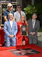 LOS ANGELES, CA. September 20, 2018: Carrie Underwood, Brad Paisley, Simon Cowell, Mitch O'Farrell &amp; Leron Gubler at the Hollywood Walk of Fame Star Ceremony honoring singer Carrie Underwood.<br /> Pictures: Paul Smith/Featureflash
