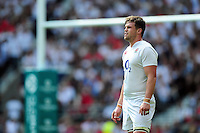 Jack Clifford of England looks on during a break in play. Old Mutual Wealth Cup International match between England and Wales on May 29, 2016 at Twickenham Stadium in London, England. Photo by: Patrick Khachfe / Onside Images
