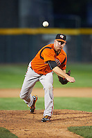 Bowie Baysox relief pitcher Eric Fornataro (51) during a game against the Erie SeaWolves on May 12, 2016 at Jerry Uht Park in Erie, Pennsylvania.  Bowie defeated Erie 6-5.  (Mike Janes/Four Seam Images)