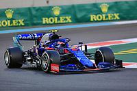 29th November 2019; Yas Marina Circuit, Abu Dhabi, United Arab Emirates; Formula 1 Abu Dhabi Grand Prix, practice day; Scuderia Toro Rosso, Pierre Gasly - Editorial Use