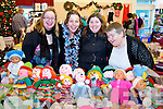 Anne Egan, Angela Healy, Audrey Rigney and Maria Rigney, pictured at the Seanchai Literary Centre, Listowel, Craft Fair on Sunday..