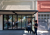 Community open house for the new Oxy Arts community art center in Highland Park, located on the corner of York Blvd. and Armadale Ave. (4757 York Blvd.) photographed on May 24, 2019. The exhibit features work from the Bob Baker Marionette Theater and Compass Rose.<br /> (Photo by Marc Campos, Occidental College Photographer)