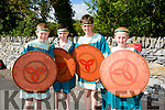 Getting ready for the parade at  Puck Fair on Monday were  l-r Ivan Crowley, Kian Shannon, Josh Key and Sean Ahern.