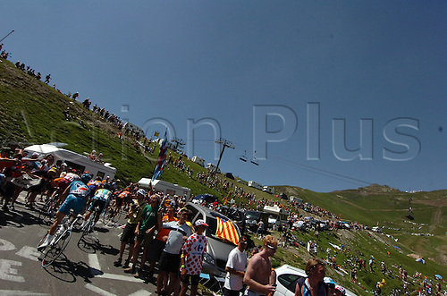 2009, Tour de France, tappa 09 Saint Gaudens - Tarbes, Tourmalet July 11th 2009.  Stage 9 (Photo: Stefano Sirotti/ActionPlus)