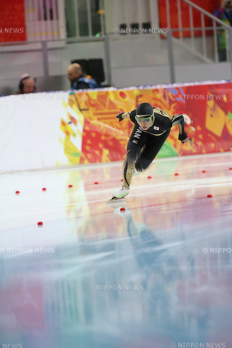 Nao Kodaira (JPN), <br /> FEBRUARY 13, 2014 - Speed Skating : <br /> Woen's 1000m <br /> at &quot;ADLER ARENA&quot; Speed Skating Center <br /> during the Sochi 2014 Olympic Winter Games in Sochi, Russia. <br /> (Photo by Koji Aoki/AFLO SPORT)