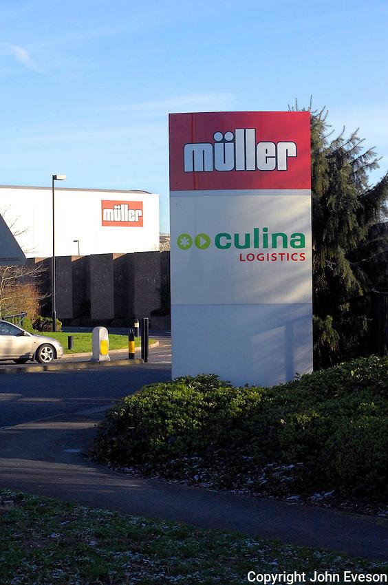 Muller Factory, Market Drayton.