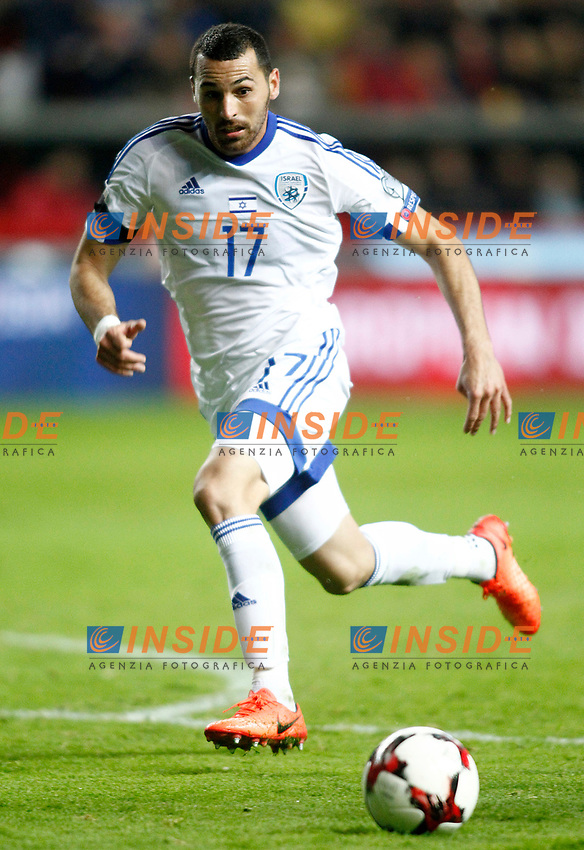 Israel's Shir Tzedek during FIFA World Cup 2018 Qualifying Round match. <br /> Gijon 24-03-2017 Stadio El Molinon <br /> Qualificazioni Mondiali <br /> Spagna - Israele <br /> Foto Acero/Alterphotos/Insidefoto <br /> ITALY ONLY