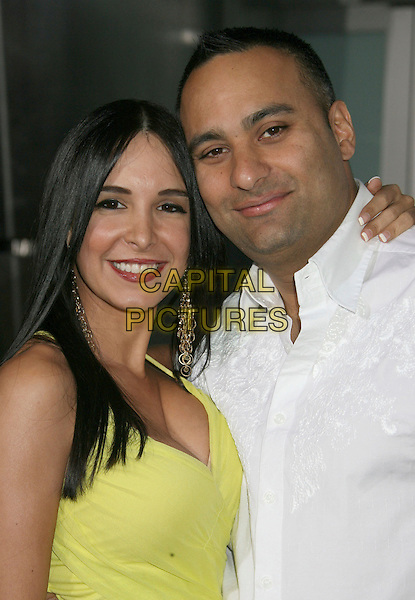 "MAYRA VERONICA & RUSSELL PETERS .""Run Fat Boy Run"" Los Angeles Premiere held at the ArcLight Cinemas, Hollywood, California , USA, .24 March 2008..half length .CAP/ADM/RE.©Russ Elliot/Admedia/Capital PIctures"