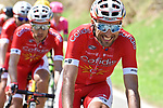 Luis Angel Mate (ESP) Cofidis in action during La Fleche Wallonne 2018 running 198.5km from Seraing to Huy, Belgium. 18/04/2018.<br /> Picture: ASO/Karen Edwards | Cyclefile <br /> <br /> All photos usage must carry mandatory copyright credit (&copy; Cyclefile | ASO/Karen Edwards)