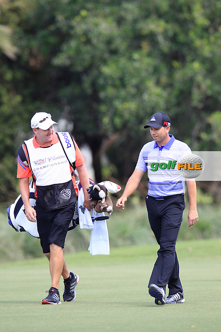 Sergio Garcia (ESP) during the 1st round at the WGC Cadillac Championship, Blue Monster, Trump National Doral, Doral, Florida, USA<br /> Picture: Fran Caffrey / Golffile
